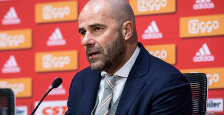 Bosz is trots op Ajax: 'Geen idee hoe zich dat zou ontwikkelen'