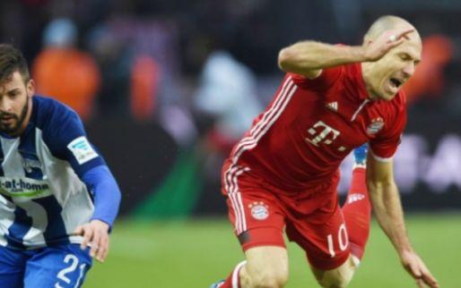Afbeelding: Bayern in slotseconde gelijk, Dortmund wint zonder Gelbe Wand