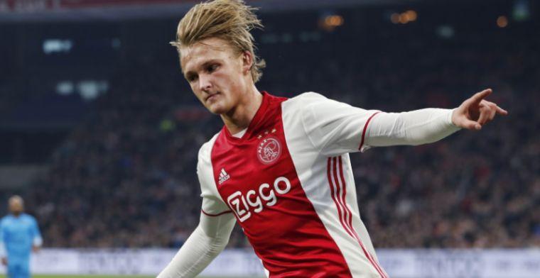 Best bewaarde geheim van Ajax: Dolberg was vier dagen niet op de club