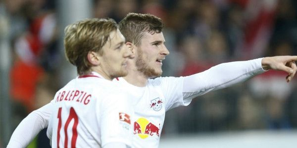 RB Leipzig kan vrije val niet stoppen, Bazoer en Jonker blijven stijgen