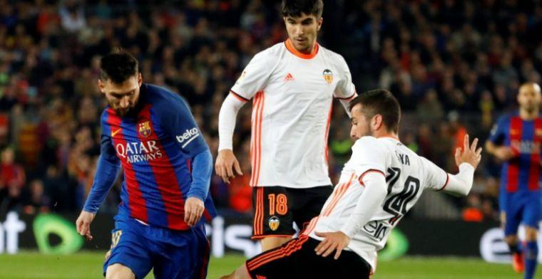 Barcelona pakt belangrijke drie punten in spektakelstuk tegen Valencia