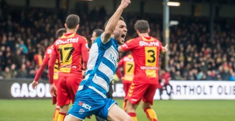 PEC Zwolle-doelpuntenmaker dolblij: Mijn teamgenoten lachen mij wel eens uit