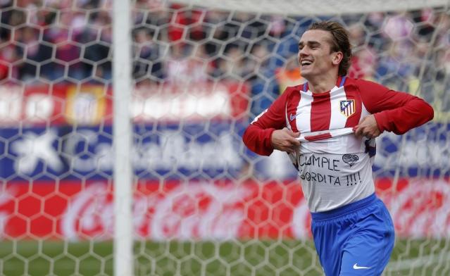 Carrasco en Atlético winnen vlot van Sevilla dankzij pareltje van Griezmann