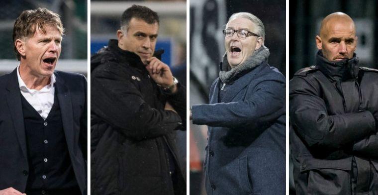 Zinderende strijd in de Eredivisie-kelder: het programma van de onderste vier