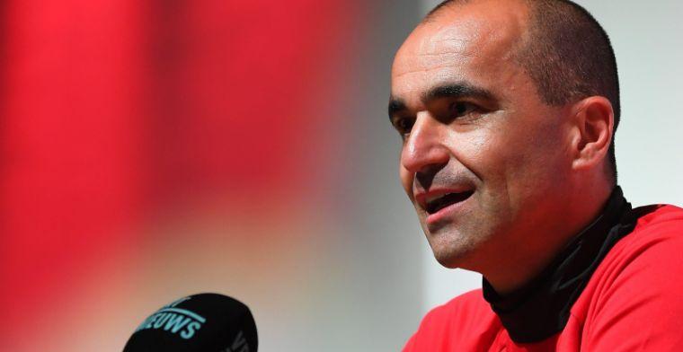 Martinez zucht: Ze spelen al lang samen en hebben al lang dezelfde coach