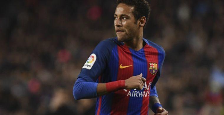 Neymar geeft Engelse topclubs hoop: 'Op een dag wil ik er spelen'