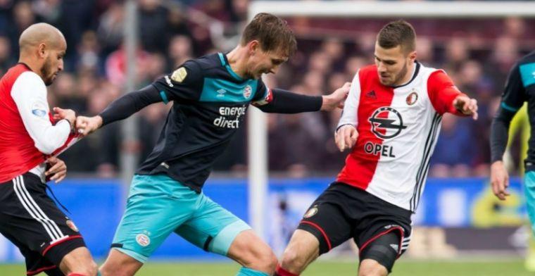 Van Hanegem ziet opvallende Vilhena-vervanger tegen Ajax: 'Hij is hen voorbij'