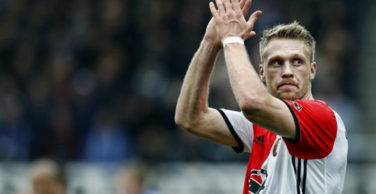 Jörgensen over 'motor' van Feyenoord: 'Heb ik al vaker aangegeven'