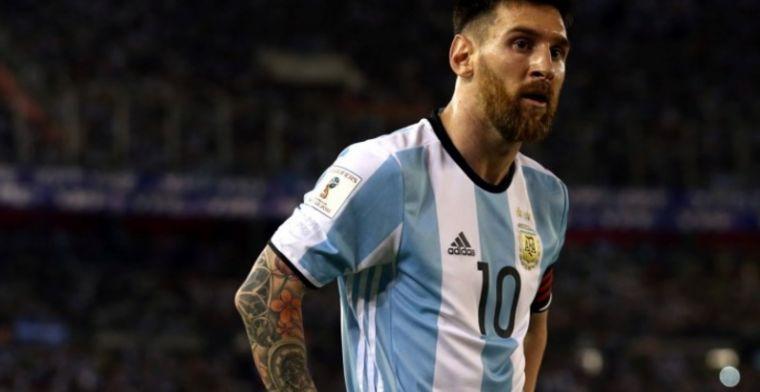 Messi gaat om opvallende reden niet akkoord met schorsing voor Argentinië