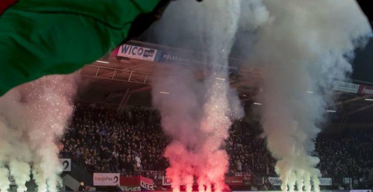 Zebra geel-zwart gespoten door Vitesse-fans: 'Voor zelfde geld vermoorden ze 'm'