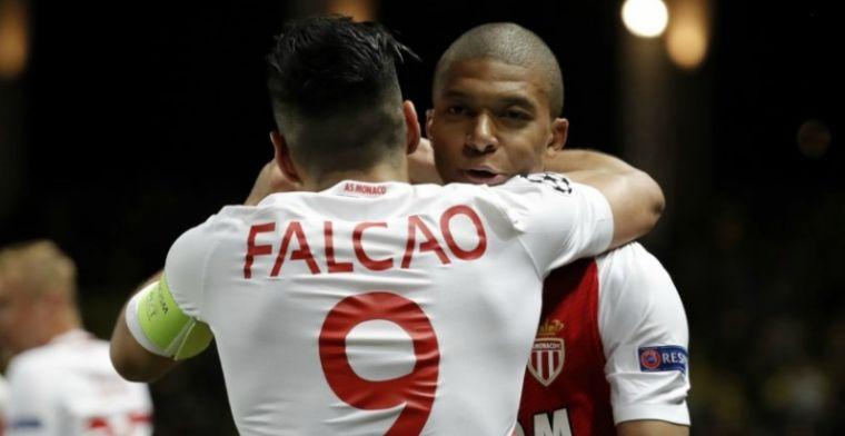 Dodelijk spitsenduo leidt Monaco naar halve finale Champions League