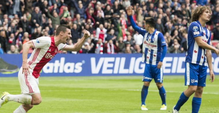 Hand van Bosz zichtbaar bij Ajax: 'Daar staan wij als team vol achter'