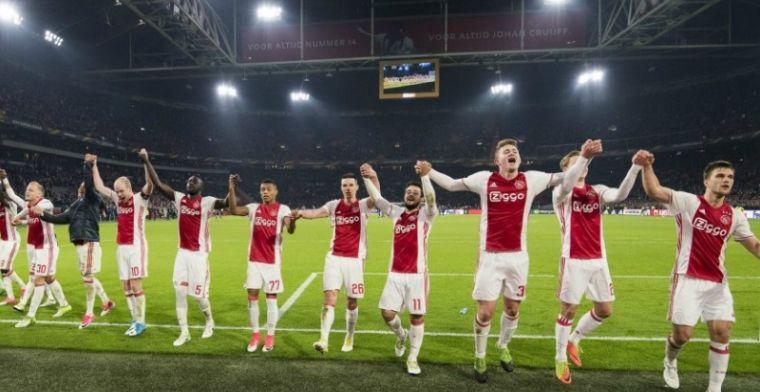 Eerste halve finale tussen Ajax en Lyon verplaatst door Dodenherdenking