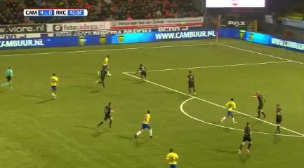 Galashow in Leeuwarden: Cambuur bij rust al met 5-0 voor tegen RKC