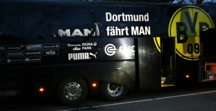 WTF? Spelersbus van Dortmund aangevallen om ronduit bizarre reden