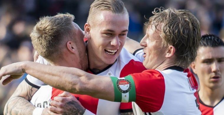 'Extreem goed Feyenoord-nieuws: Karsdorp kan zondag mogelijk minuten maken'