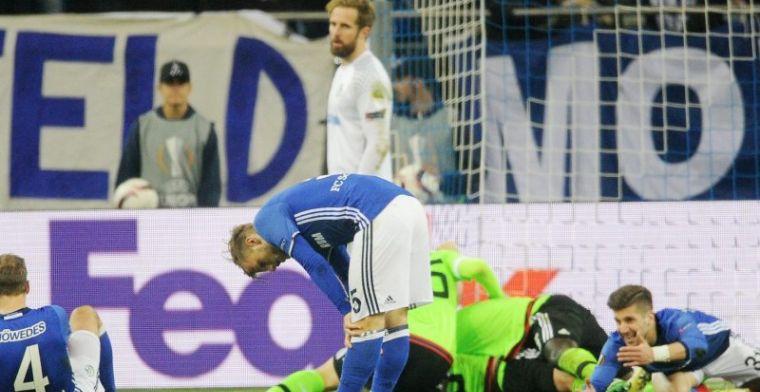 Teleurstelling enorm bij Schalke 04: De voetbalgod is niet altijd eerlijk