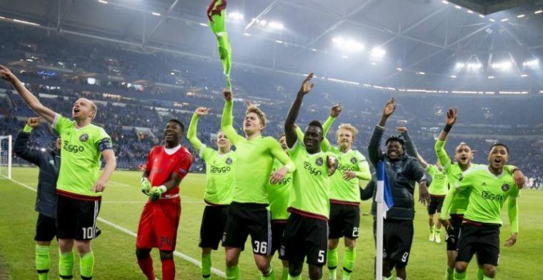Duitse pers sipt mee met Schalke en prijst Ajax na 'Fußballwunder'