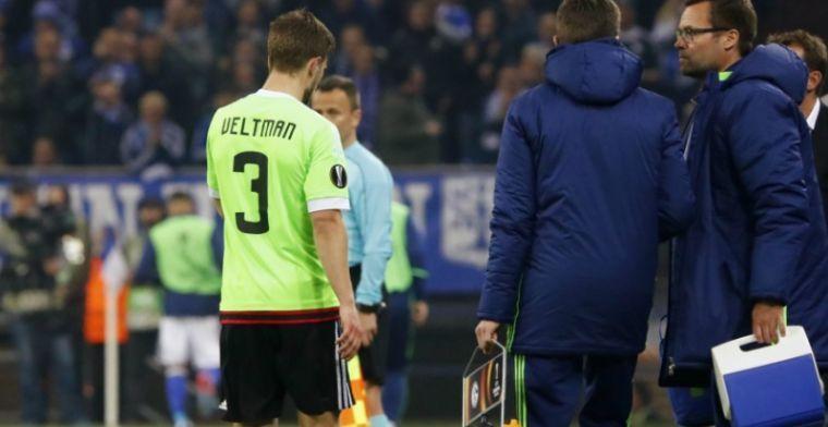 Veltman reageert op Europa League-loting: 'Lijkt op het Leicester-verhaal'
