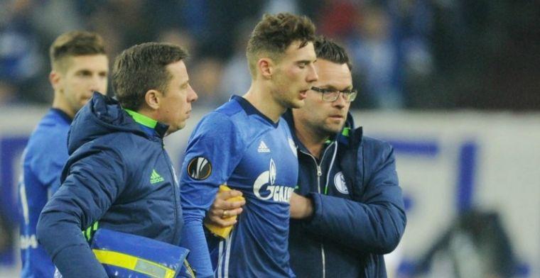 Onana beukt doelpuntenmaker Schalke ziekenhuis in: Hij wilde blijven staan