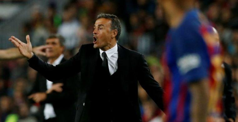 'Barcelona dirigeert drie spelers naar uitgang, deze week opvolger Enrique'