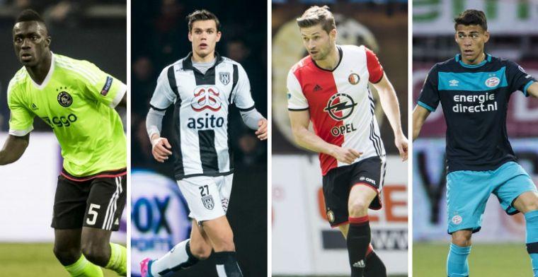 VoetbalPrimeur Elftal van het Jaar: centrale verdedigers