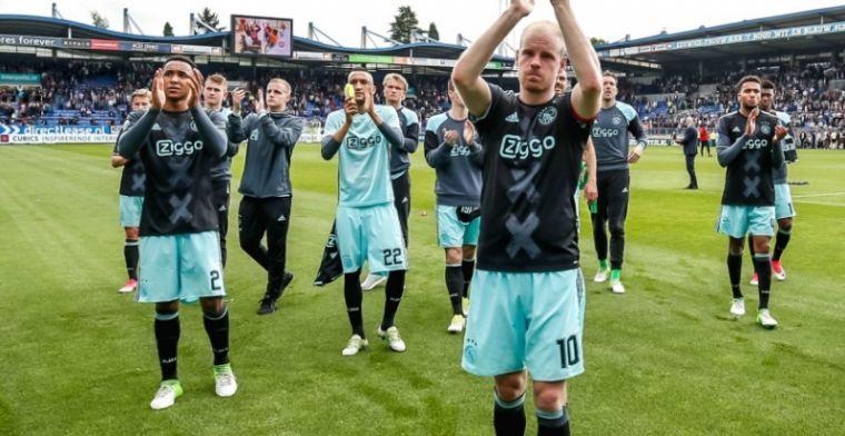 Klaassen wijst belangrijkste Ajax-wapen aan: 'Nog geen slechte ploeg natuurlijk'