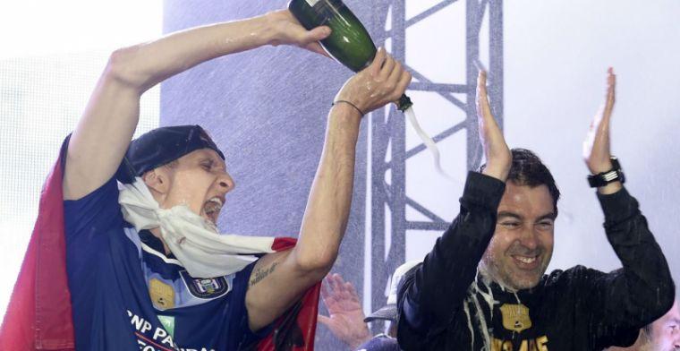 Kritiek blijft: Een bierkratje past beter bij deze titel dan champagne