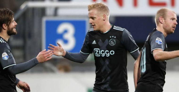 De Mos wijst meest 'intelligente' Ajax-middenvelder aan: 'Ook dan Klaassen'
