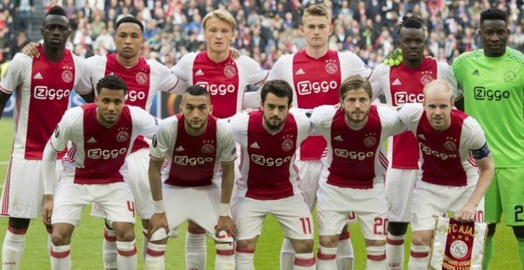 Ajax kan als eerste de 'UEFA-5' winnen; Amsterdammers grootste kaartenpakkers