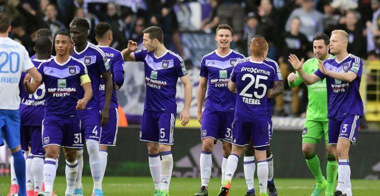 """""""Iemand duwde me dit seizoen bij Anderlecht naar de uitgang"""""""