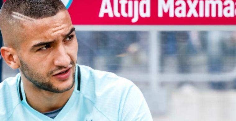 'Ziyech verrast en wijst uitnodiging van Marokkaanse bondscoach Renard af'