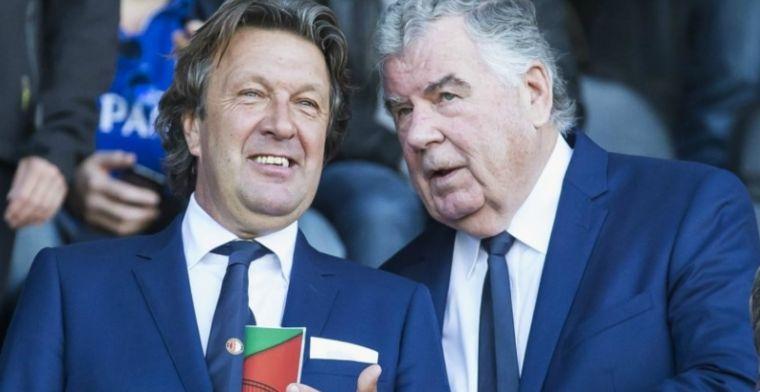Feyenoord-coryfee voelt spanning overduidelijk bij kampioenswedstrijd
