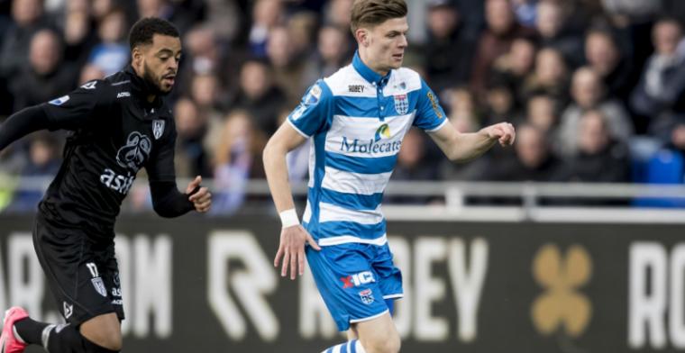'Feyenoord wilde me, maar toen krabden ze zich bij Ajax achter de oren'
