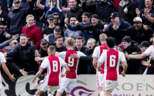 Ajax-talenten grijpen dubbel en verslaan PSV met grote cijfers in bekerfinale