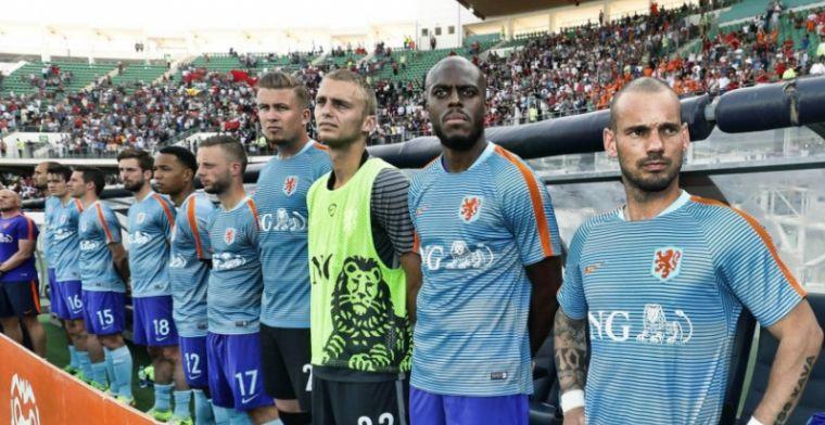 'De manier waarop Sneijder recordinternational gaat worden, wringt bij mij'
