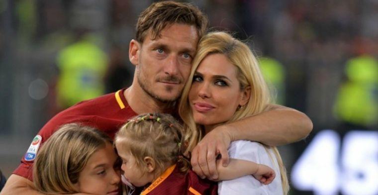 Totti wilde penalty expres missen bij afscheid: Rechstreeks in de Curva Sud