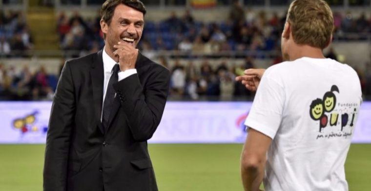 AC Milan-legende Maldini (48) maakt profdebuut op tennisbaan