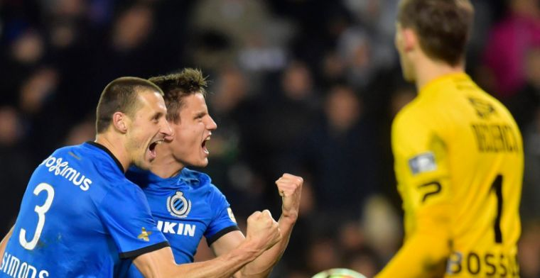 Club Brugge-speler is Preud'homme en Mannaert dankbaar