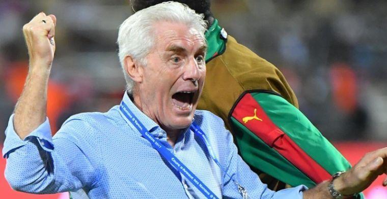Hugo Broos begint de Confederations Cup met late nederlaag tegen Chili