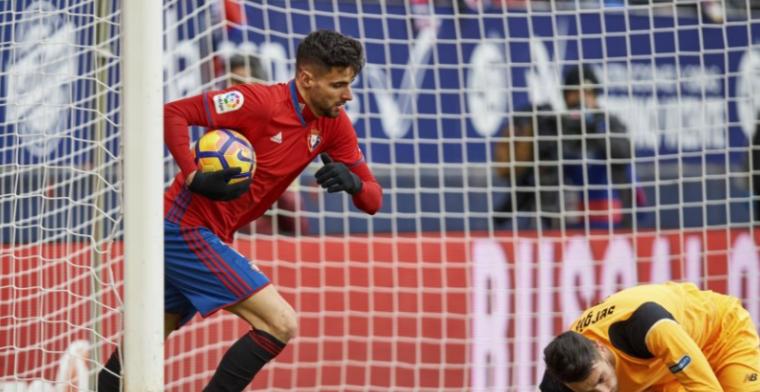 'FC Groningen al in Spanje voor Osasuna-spits van 750.000 euro'