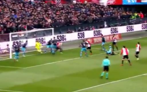 Afbeelding: Blunder Zoet tegen Feyenoord gaat opnieuw viral: 'Jeroen, doe nou niet! WTF!'