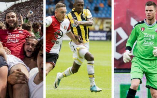 Transfernieuws | Nog 7 dagen onder contract: 10 Eredivisie-spelers die nog geen nieuwe club hebben