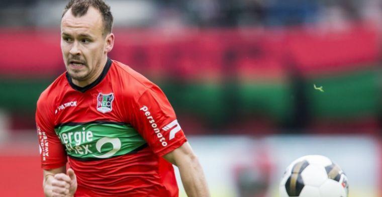 Opvallende stap NEC-verdediger: contract bij Kroatische topclub na degradatie