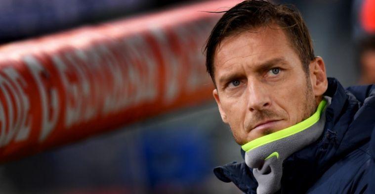 Totti heeft opmerkelijke aanbieding op zak: Hij kan over twaalf dagen spelen