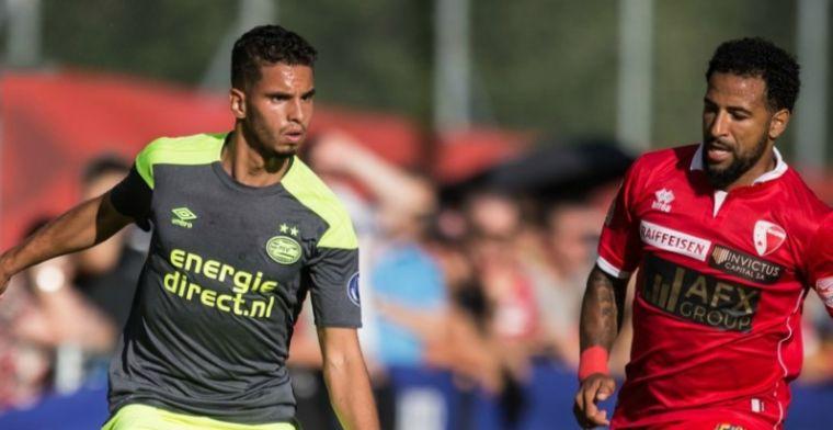 PSV wint ook tweede oefenwedstrijd door doelpunt in 28ste minuut
