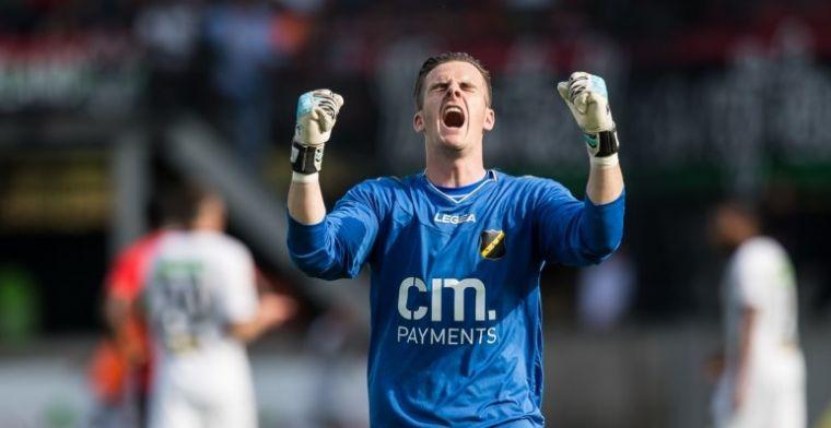 Belgische doelman maakt zich onpopulair bij NAC: 'Het gaat om geld'