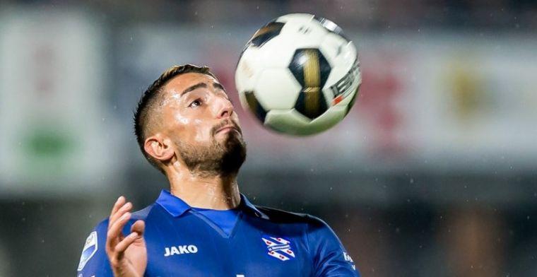 Heerenveen-verdediger zoekt club: Ik speel liever op het hoogste niveau
