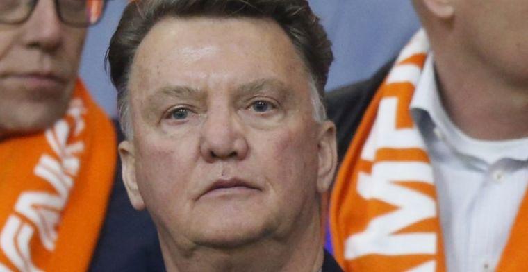 Van Gaal onder de indruk van Oranje-dames: 'De laatste keer was in 2001'