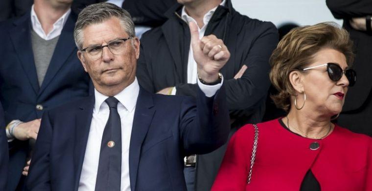 Van Geel betreurt mislukte Feyenoord-deal: Dat vonden wij heel erg jammer